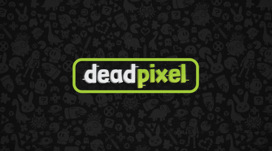 Dead Pixel Hand Drawn Wallpaper