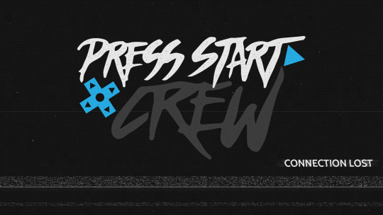 Press Start Crew Gaming Logo