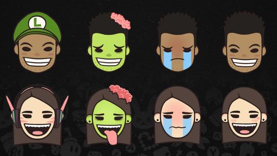 Dead Pixel Emojis