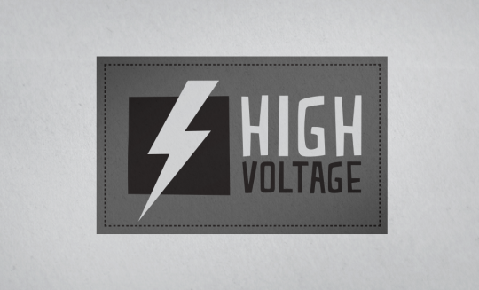 High Voltage Apparel Logo