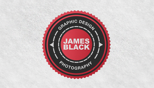 Photographer & Graphic Designer Logo