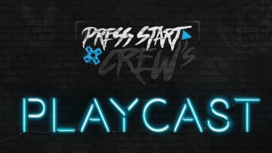 Press Start Crew's Playcast podcast logo