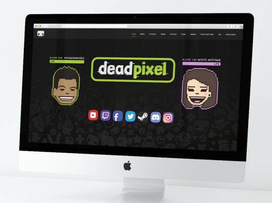 deadpixel's Website Graphics